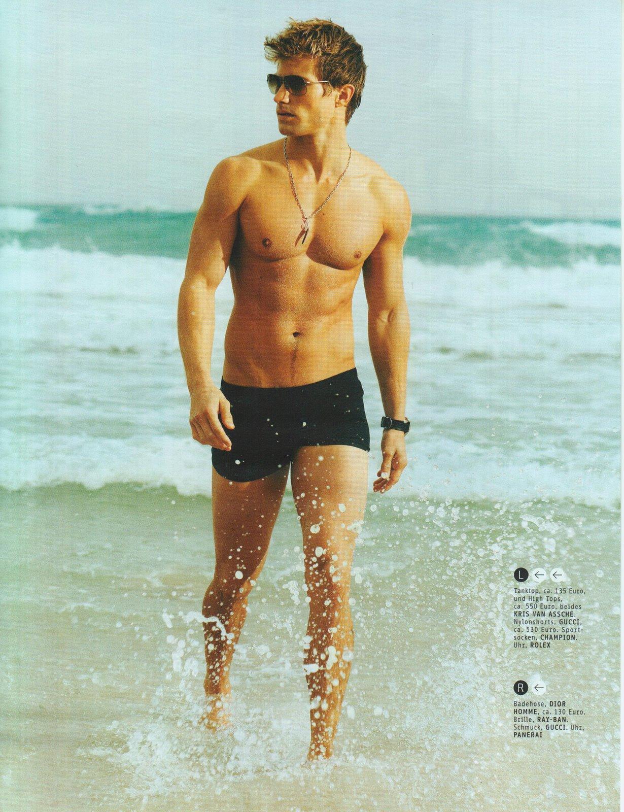 Самые красивые фото мужчин на пляже