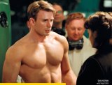 "Chris Evan as ""CaptainAmerica"""